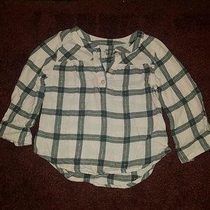 Girls flannel shirt